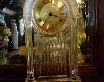 Crystal Clock---battery operated