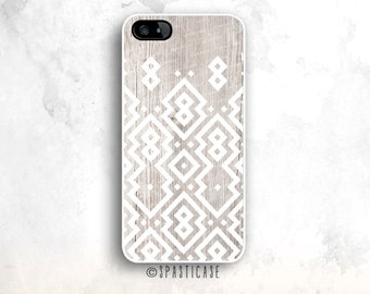 iPhone 6S Case, Aztec Pattern iPhone 5S Case, iPhone SE, White Wood, iPhone 6 Plus, iPhone 6 Case, iPhone 5 Aztec, iPhone 6 Case Aztec 5C