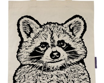 Raccoon - Eco-Friendly Tote Bag