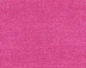 Fuschia Bark Cloth << Fabric by the yard >> Michael Miller << pink >> 100% cotton << CX6898 FUSC >> Burlap <<