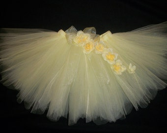 Princess Belle tutu, Beauty and the Beast inspired tutu custom made sizes Newborn-4t