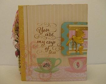 You Are My Cup of Tea Scrapbook Album
