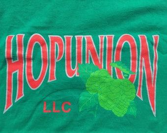 Hopunion shirt-craft beer-Yakima Chief- YCH HOPS