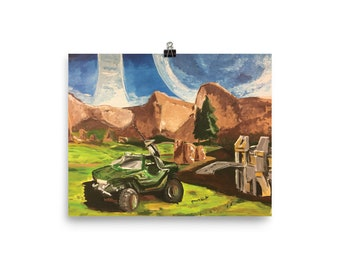Blood Gulch : Print