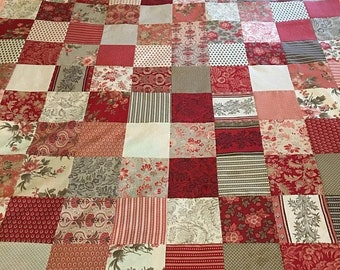 Christmas In June Atelier De France by French General Quilt Top