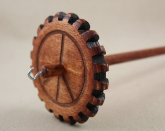 Medium Weight Peace Sign Gear Spindle