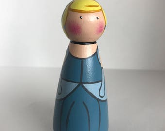 Princess Peg Doll
