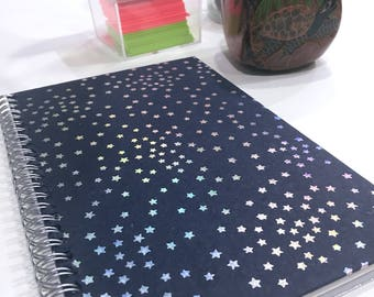 Ruled Journal - Blue Part 2 - Small Lined Notebook - CHOOSE YOUR COVER