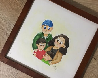 CUSTOM children's illustration
