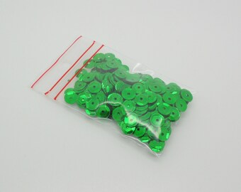 sequins green sachet 6.30 g for Carnival