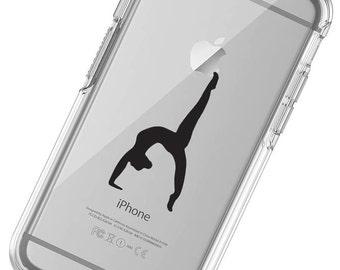 Gymnastics Silhouette  Phone Case, iphone 6 Case, iphone 7 Case, iphone 6 plus Case, iphone 7 plus, iphone X Phone , iphone 8, galaxy