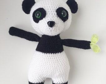Little Panda - Amigurumi crochet