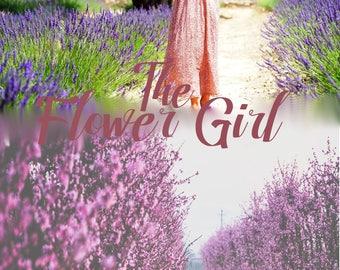 Premade eBook Cover The Flower Girl