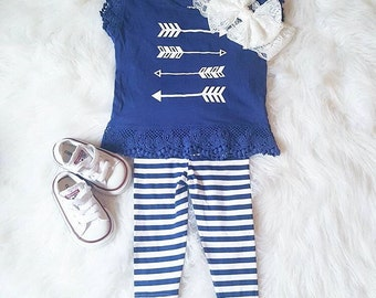 Lace arrow shirt