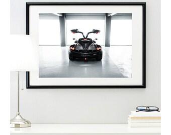 Pagani Huayra Rear View, automotive photography, automotive prints, car photography, car prints, Italian supercar, Pagani, @richardlephoto