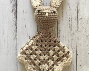 Crochet cuddle bunny blanket