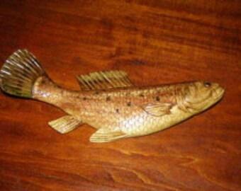 Final 20 cm fish sculpture