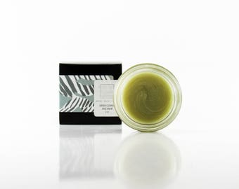 Green Cleanse Cleansing Face Balm For Oily, Acne Prone Skin with Infused Oils and Butters