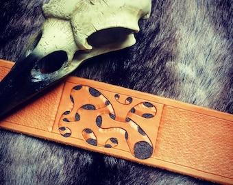 Leather Bracelet Organic