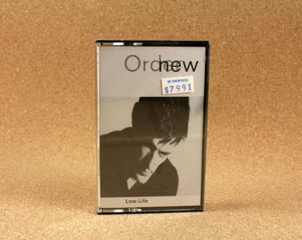 New Order - Low Life Cassette Tape - US Recording - Qwest Records - Vintage Music - Near Mint Condition
