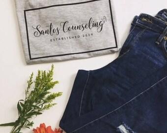 Santos Counseling Logo T-shirt