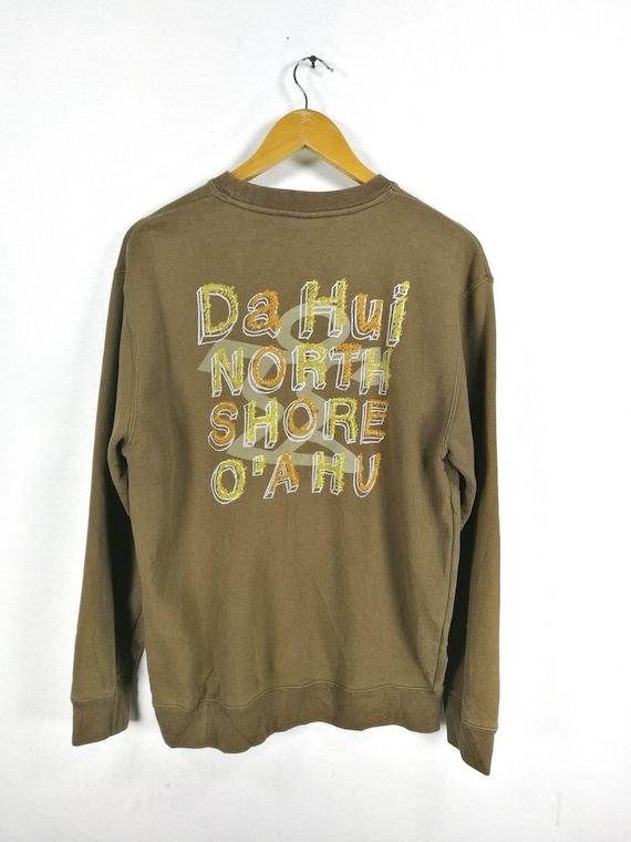 Rare !! Da Hui Hawaii North Shore Oahu Sweatshirt Crewneck XL Size #D1 BR0EWHIvZe