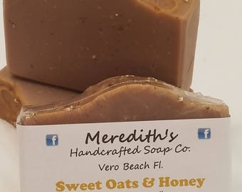 Sweet Oats and Honey Soap