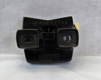 Viewmaster Viewer vintage 1950s brown Bakelite Sawyer's stereoscopic 3D viewer stereoscope
