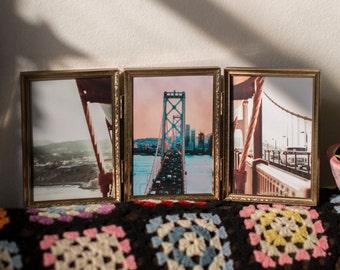 Bay Bridge tryptic frame