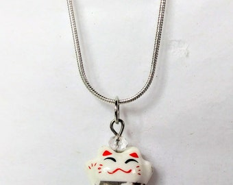 Maneki-Neko Necklace