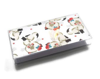 Checkbook Cover Cutie Cats