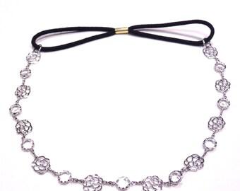 Headband/head decoration / hair - silver jewelry