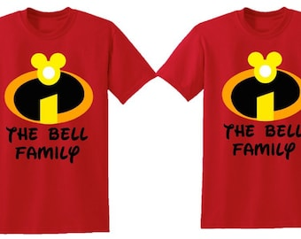 The incredibles birthday shirt, incredibles shirt, the incredible birthday party, disney birthday, disney kids shirt, disney birthday shirt
