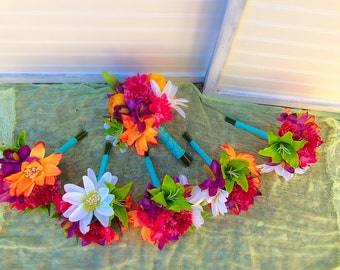 Tropical Bouquet Set