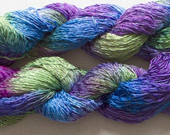 Candy Twist, Hand Painted yarn, 300yds - Nepeta