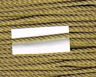 Cord 5 mm gold