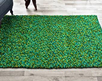 Wool rug - Spring glade