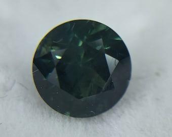 Dark Blue Montana Sapphire Loose Stone (.77ct --5.5mm) Montana Sapphire Loose Stone, Montana Sapphire, Sapphire