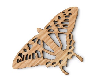 Swallowtail Butterfly Ornament - Made in the USA with sustainably harvested wood! - Timber Green Woods, USA.