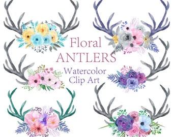 Bois aquarelle clipart clipart Floral fleurs aquarelle clipart Bouquets clipart mariage clipart Invitation clipart Floral bois