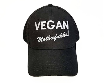 Vegan mothafukka! Hat