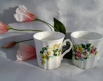 Royal Grafton, Set of Two Coffee Mugs, Made in England