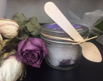 Relaxing Bath Salt and Soothing Hand and Foot Scrub