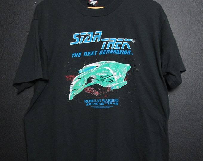 Star Trek Romulan Warbird 1991 Vintage Tshirt