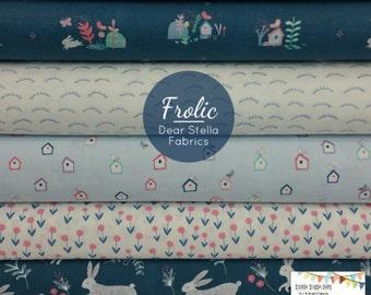 Frolic Bundle from Dear Stella Fabrics - 5 Fabrics