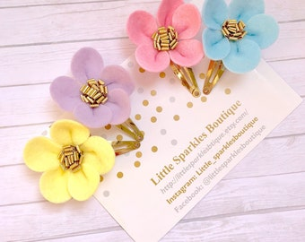Flower hair clip, fower headband, baby bow, baby headband, cake smash prop, wedding hair, flower clip