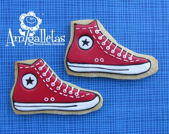 Converse Decorated Sugar Cookies - 1 dozen