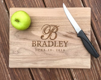 Personalized Cutting Board, 5th Anniversary Gift, Wedding Gift, Custom Anniversary Gift, Wood Anniversary, Custom Cutting Board, Engagement