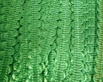 10 meters 8 mm Green serpentine croquet width stripes