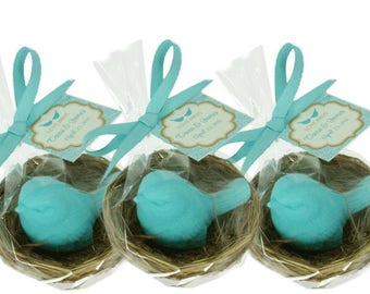 Bird Nest Favor - Your Choice Color - Shower Favors - Custom Favor